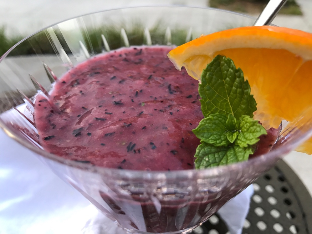 Simple Summer Blueberry Gazpacho