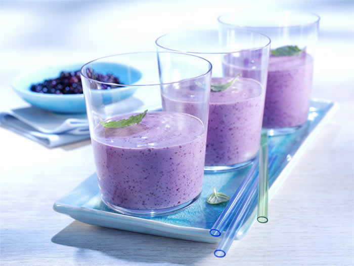 Betty Crocker's Blueberry Smoothie