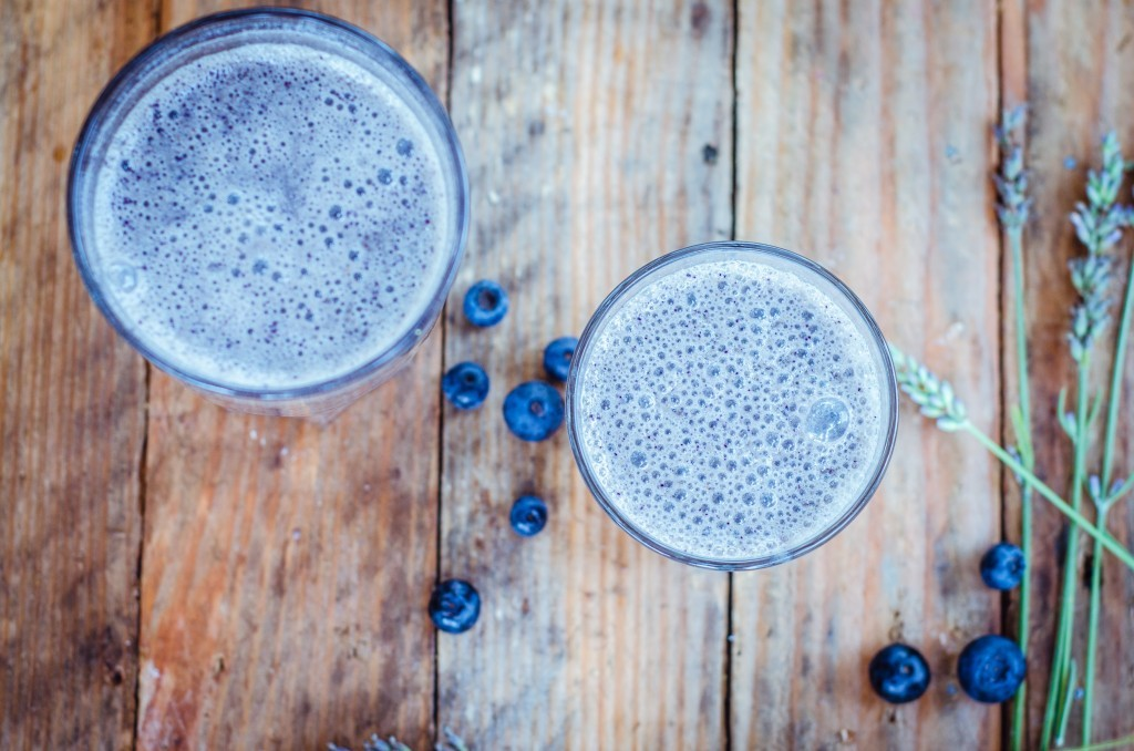 Lavender Blueberry Smoothie