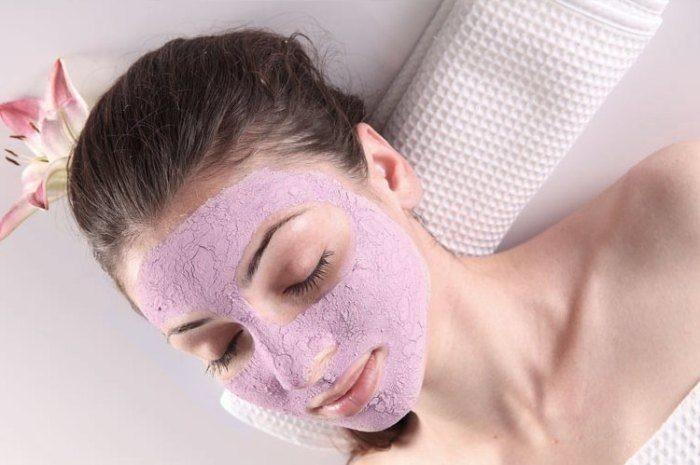 blueberry acne mask