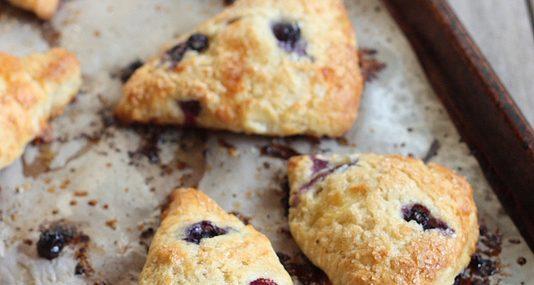 Blueberry Brie Scones