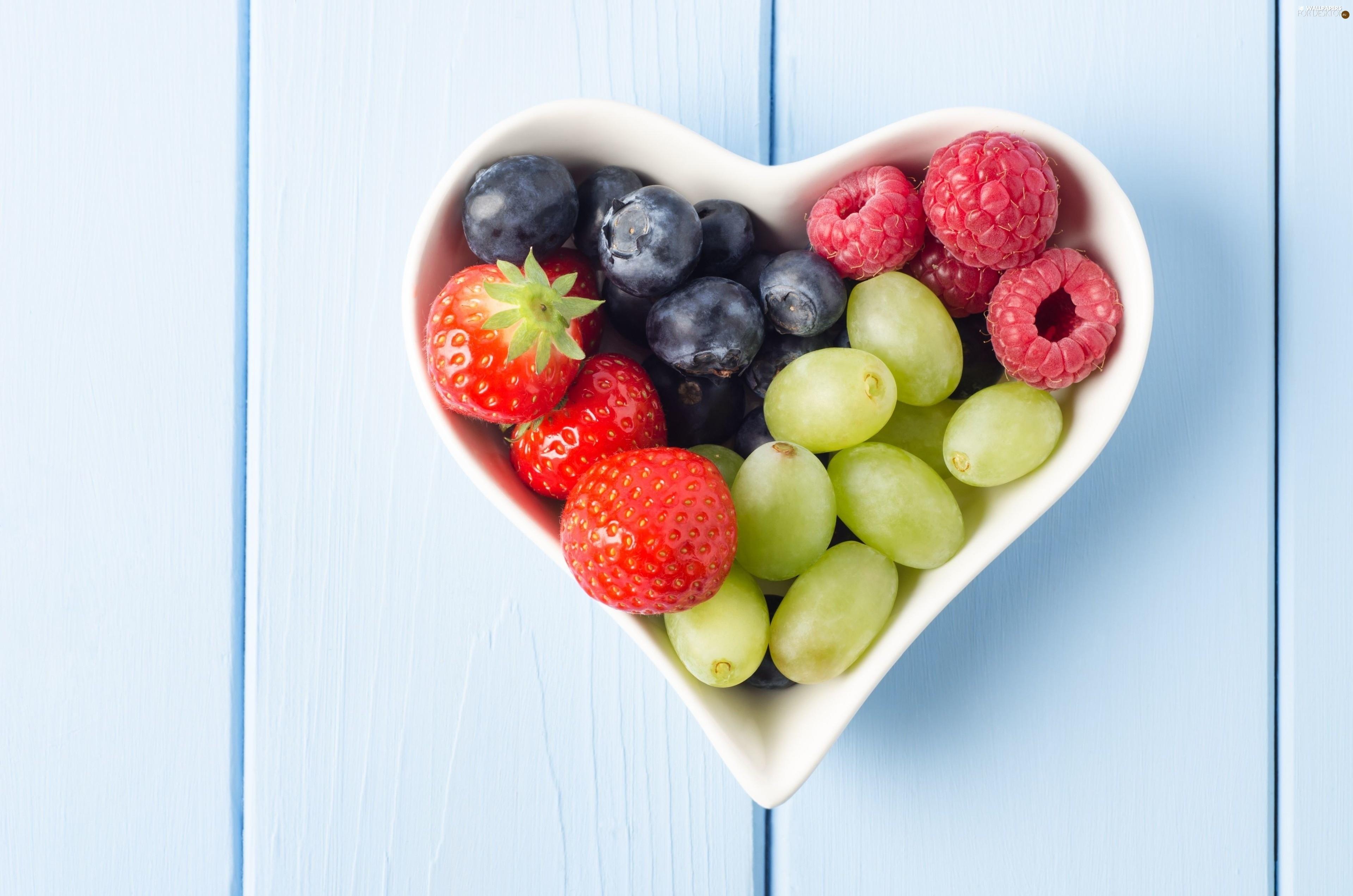 blueberries heart healthy