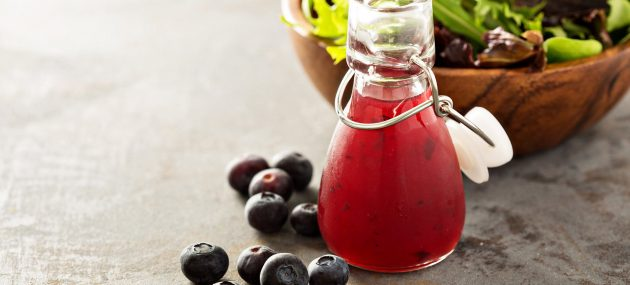 Try Blueberry Vinegar: A Brain Food!